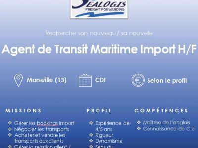 agent de transit maritime import